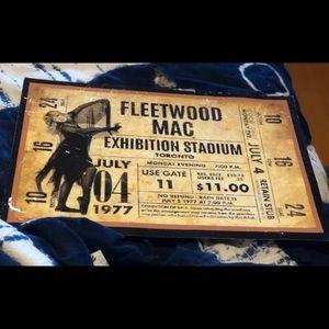 FLEETWOOD MAC/STEVIE NICKS POSTER GLOSS COAT 12x18